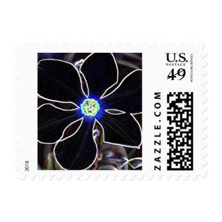 El narciso del poeta en neón timbres postales