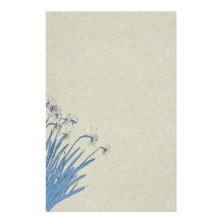 El narciso florece los efectos de escritorio  papeleria