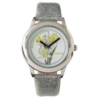 El narciso reloj de mano