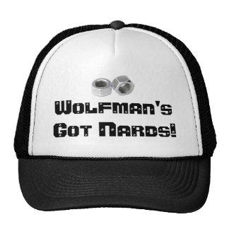 ¡El NARDS conseguido de Wolfman! Gorras