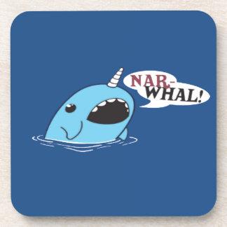 El Narwhal ruidoso Posavasos De Bebida
