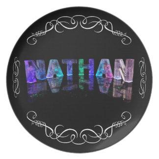 El Nathan conocido - nombre en las luces (fotograf Plato De Cena