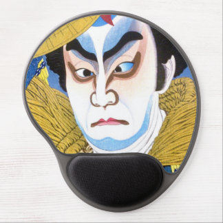 El natori de Ichikawa Chusha Takechi Mitsuhide shu Alfombrilla Con Gel
