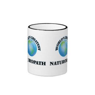El Naturopath más grande del mundo Taza De Dos Colores