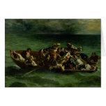El naufragio de Don Juan, 1840 Tarjeta De Felicitación