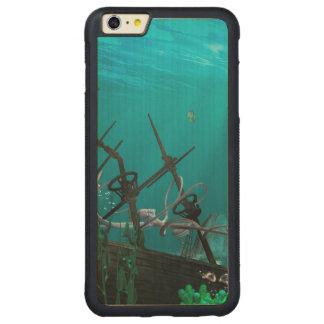 El naufragio funda de arce bumper carved® para iPhone 6 plus