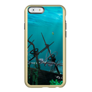 El naufragio funda para iPhone 6 plus incipio feather shine