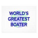 El navegante más grande del mundo comunicado personalizado