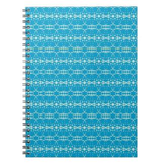 El navidad adorna 101 azules/MNT Libro De Apuntes Con Espiral