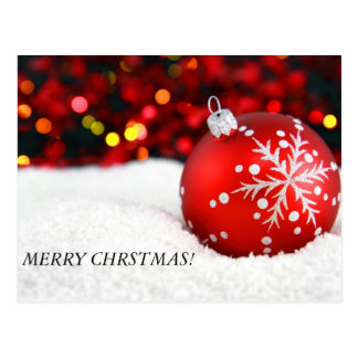 ¡el navidad adorna 3, FELIZ CHRSTMAS! Tarjetas Postales