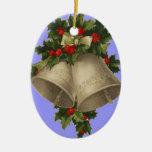 El navidad adorna con el verso y Belces de Lucas Ornamento De Reyes Magos