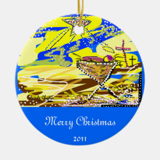 El navidad adorna/Jesús Ornamento De Navidad