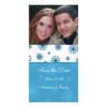 El navidad ahorra las tarjetas de la foto del boda tarjetas con fotos personalizadas