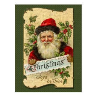 El navidad alegrías sea Thine Tarjetas Postales