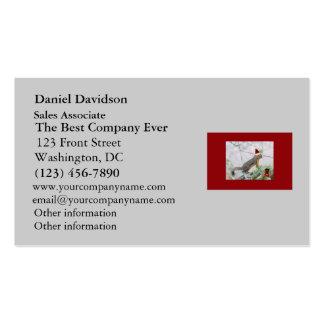 El navidad atesora con el almacenamiento del tarjetas de visita