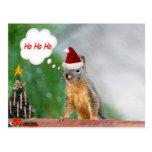 El navidad atesora decir Ho Ho Ho