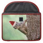 El navidad atesora en un árbol fundas para macbooks