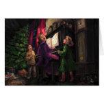 El navidad canta adelante tarjetas
