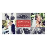 El navidad casa nuevamente el collage feliz y tarjetas fotograficas personalizadas