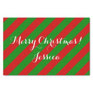 El navidad coloreó el papel seda para el