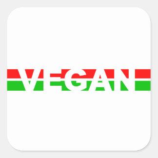 El navidad coloreó rayas del vegano etiquetas