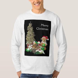El navidad de Chimunk, ardilla, シマリスのクリスマス Playeras