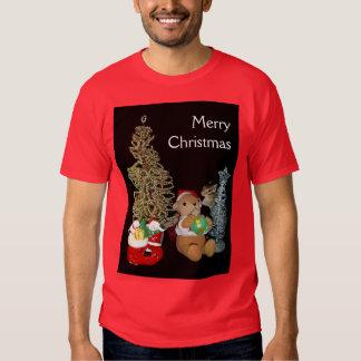 El navidad de Chimunk, ardilla, シマリスのクリスマス Remeras