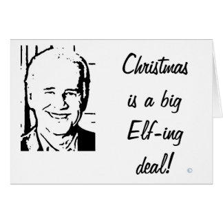 El navidad de Joe Biden es un trato grande de Elfi Tarjeta