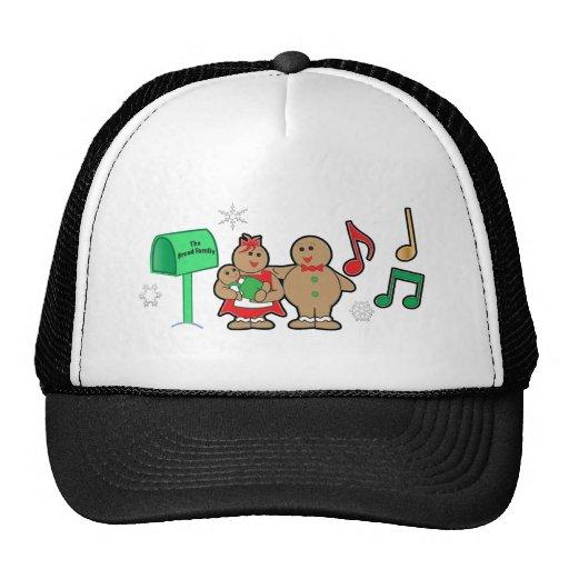 El navidad de la familia del pan de jengibre: Mamá Gorra