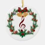 El navidad de la música enrruella el regalo del ornatos