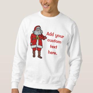 El navidad de Papá Noel crea sus los propios Sudadera