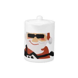El navidad de Rockin refresca Santa