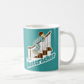 El navidad del cascanueces taza básica blanca