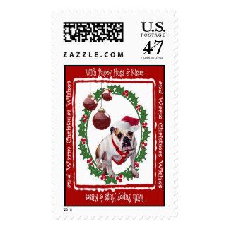 El navidad del dogo abraza y besa el sello #3
