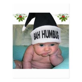 ¡El navidad del embaucamiento de Bah chupa!! Postales