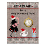 El navidad del país de las maravillas ahorra la fi tarjeta postal