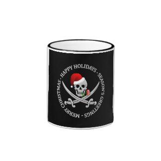 El navidad del pirata asalta - elija el estilo, co tazas