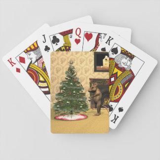 El navidad del ratón baraja de cartas