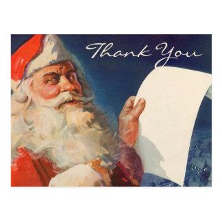 El navidad del vintage le agradece
