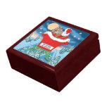 El navidad divertido de Papá Noel Humor cómo está  Caja De Joyas