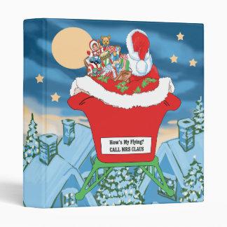 El navidad divertido de Papá Noel Humor cómo está