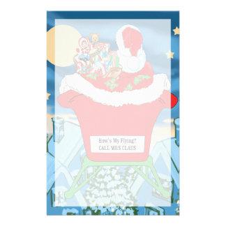 El navidad divertido de Papá Noel Humor cómo está  Papeleria De Diseño