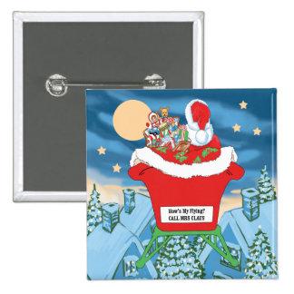 El navidad divertido de Papá Noel Humor cómo está  Pins