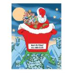 El navidad divertido de Papá Noel Humor cómo está  Postales