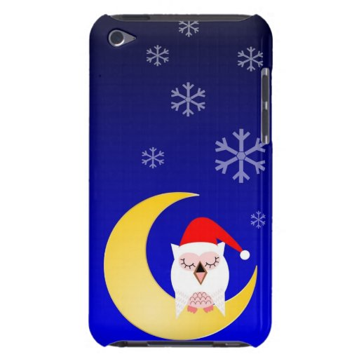 El navidad encajona con el búho iPod Case-Mate carcasa