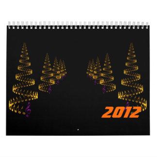 El navidad es avenidas de la música calendario