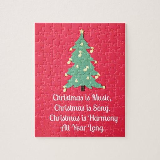 El navidad es música…. rompecabezas