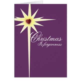El navidad es Perdón-personalizar - modificado par Tarjetas
