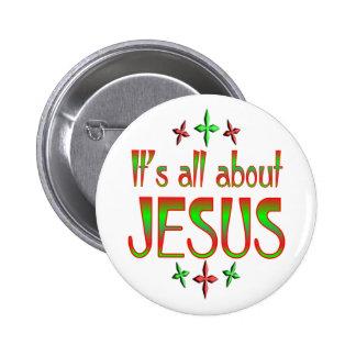 El navidad está sobre Jesús Pin