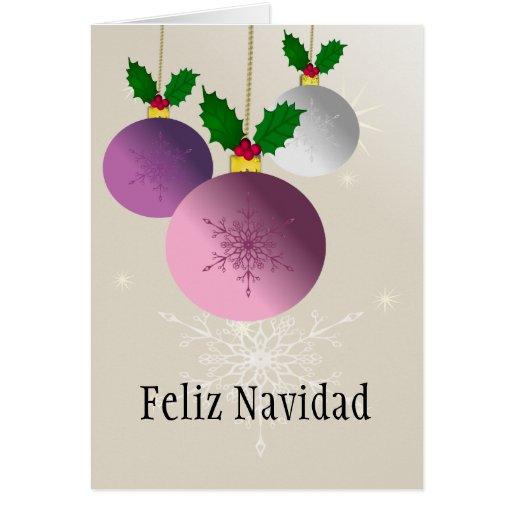 El Navidad-Feliz navidad de Feliz, lo dejó nevar Tarjeta De Felicitación
